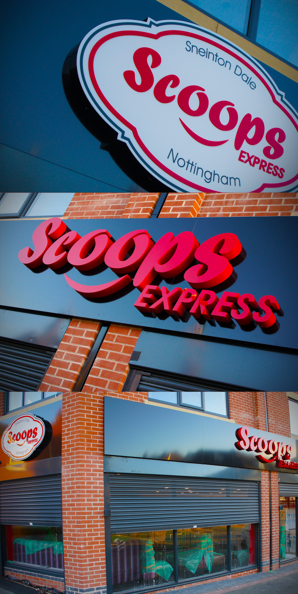 Scoops Sneinton Signage