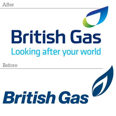 New British Gas Logo