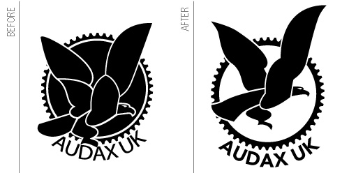 Audax Logo Comparison