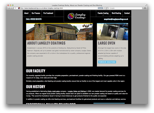 Derby Web site Design