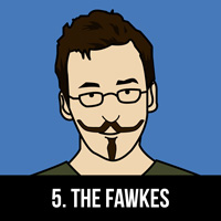 Guy Fawkes Moutache