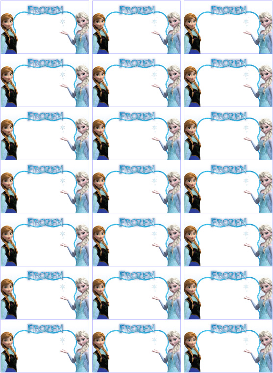 Frozen Party Invites And Other Frozen Party Bits Kids