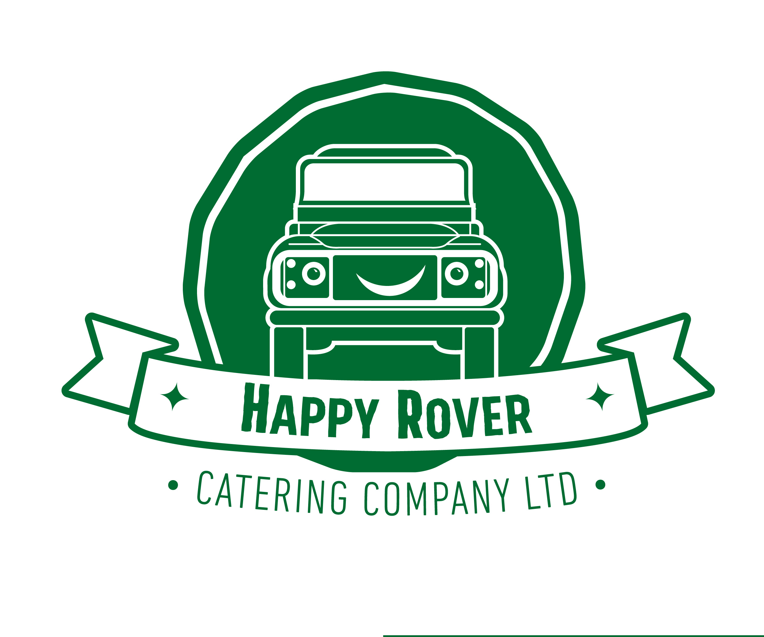 Happy Rover Pizza Logo