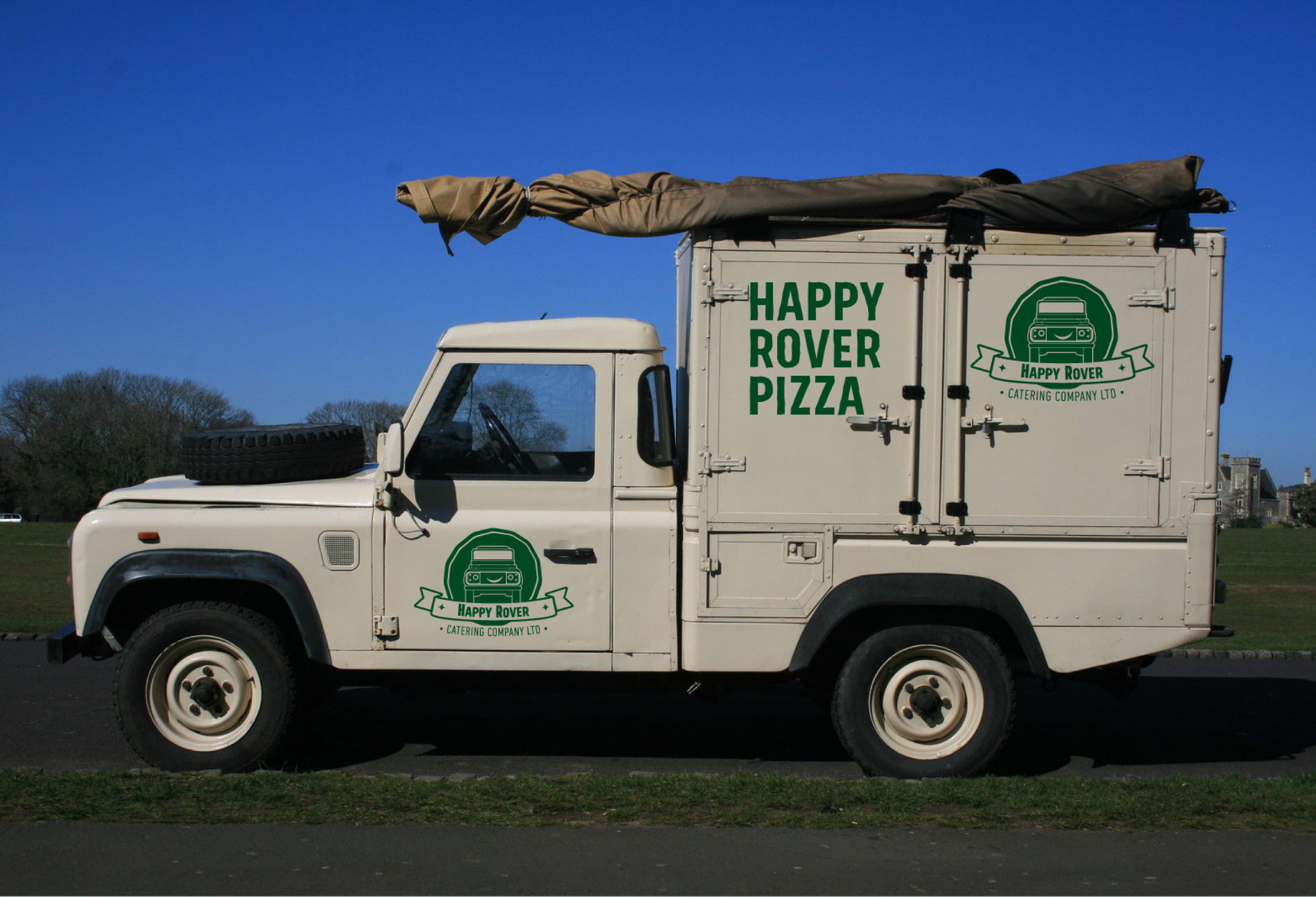Happy Rover Pizza Van
