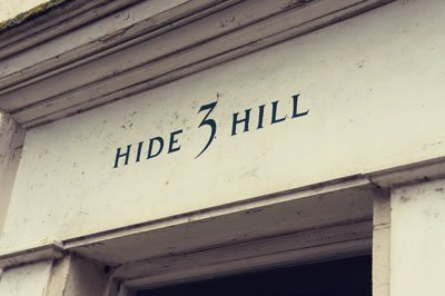 Hide Hill - Found Type Berwick