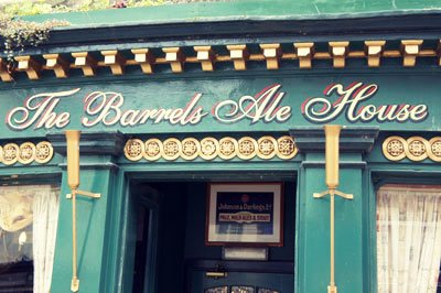 The Barrels Ale House - Found Type Berwick