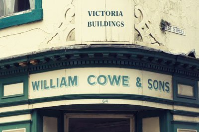 William Cowe - Found Type Berwick