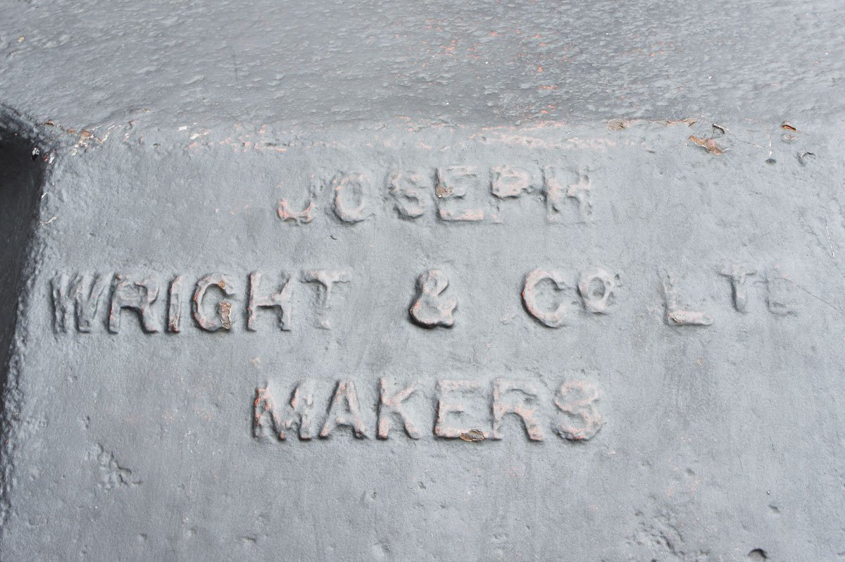 Jospeh Wright- Found Type Portsmouth