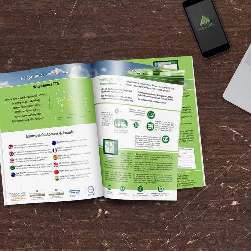Rail Brochure Design