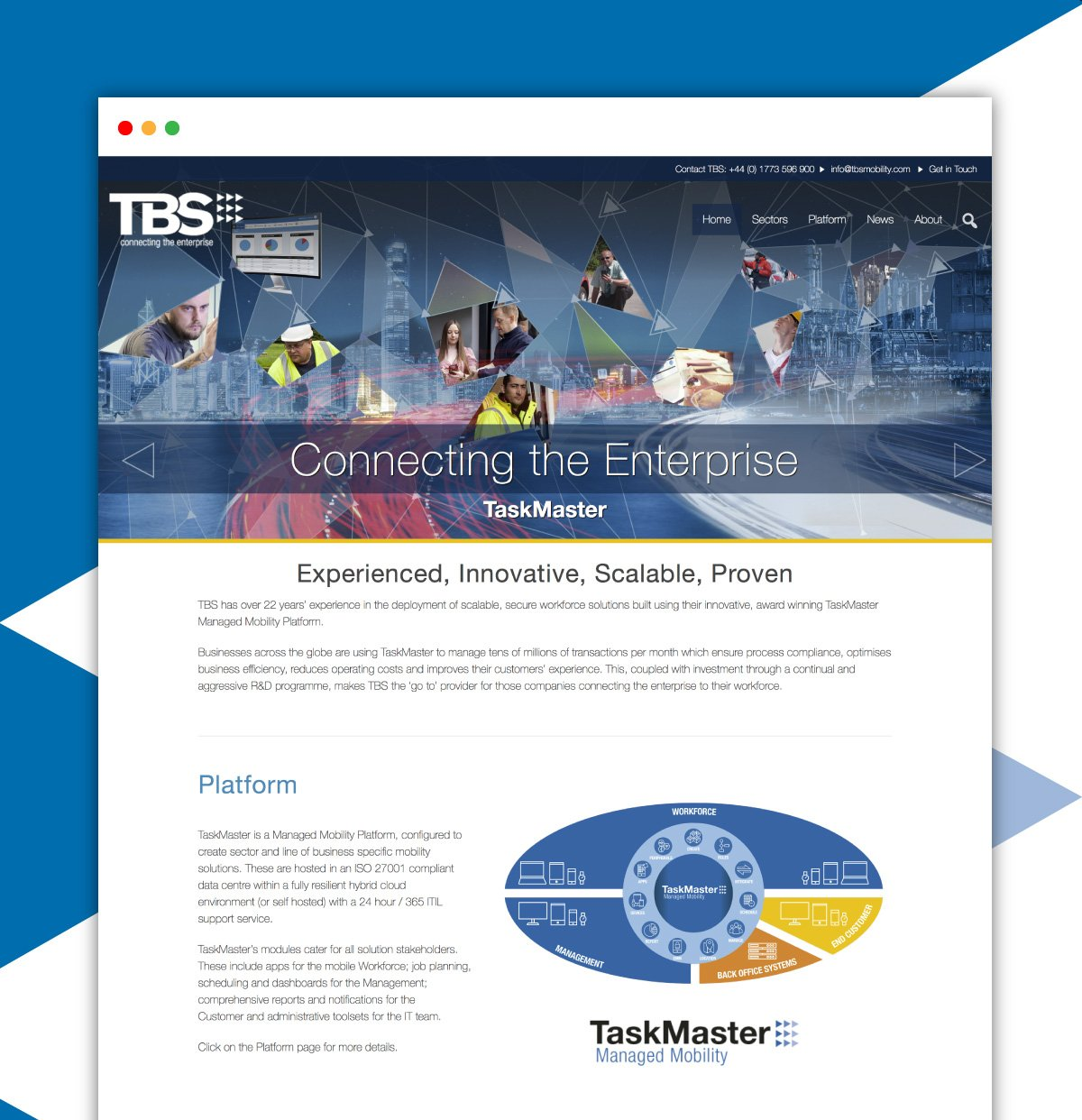 TBS Website Design