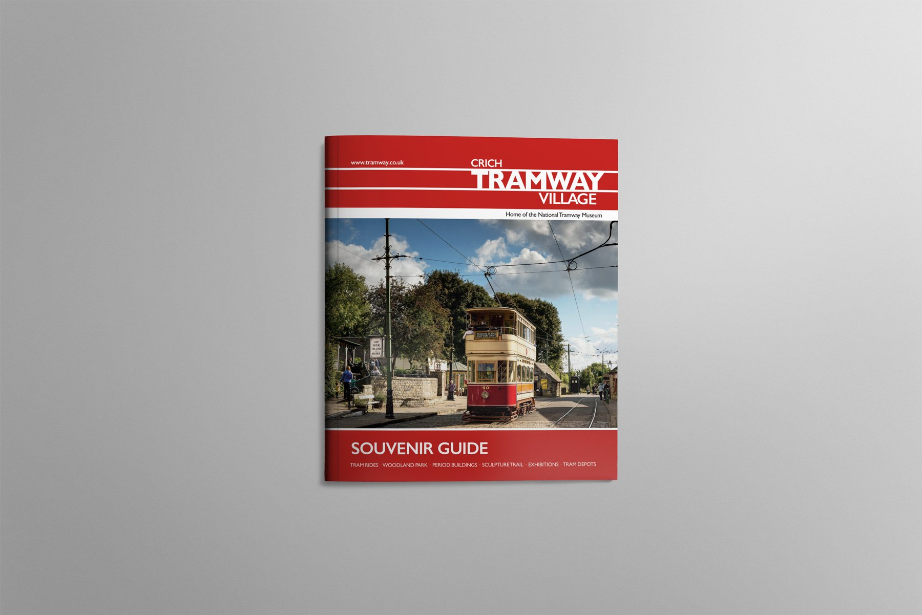 Crich Tramway Guidebook Cover