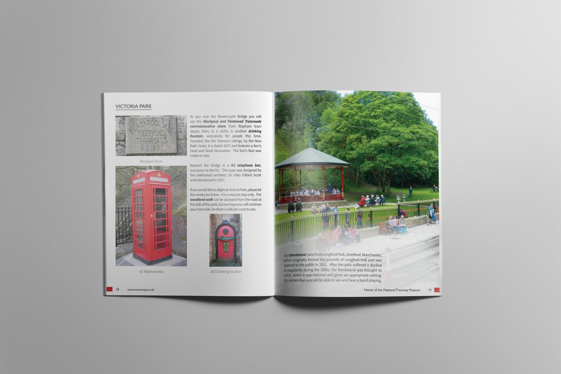 Crich Tramway Guidebook Interior Pages