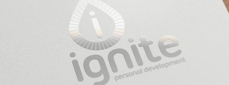 Ignite Personal Development Logo Design