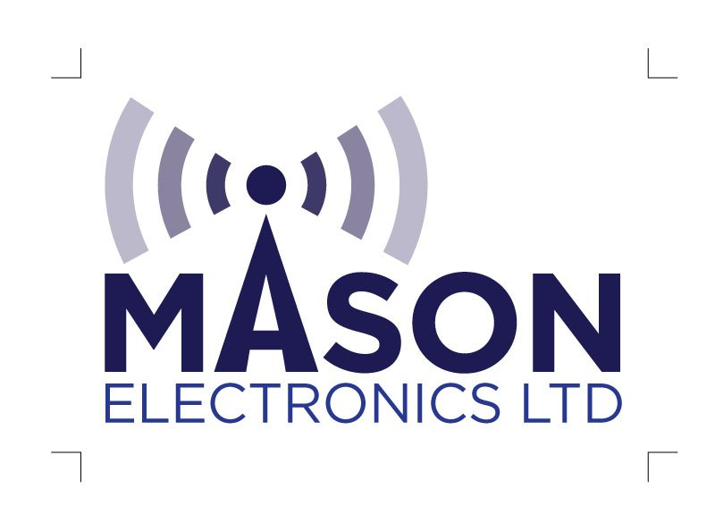 Mason Electronics Logo and Branding
