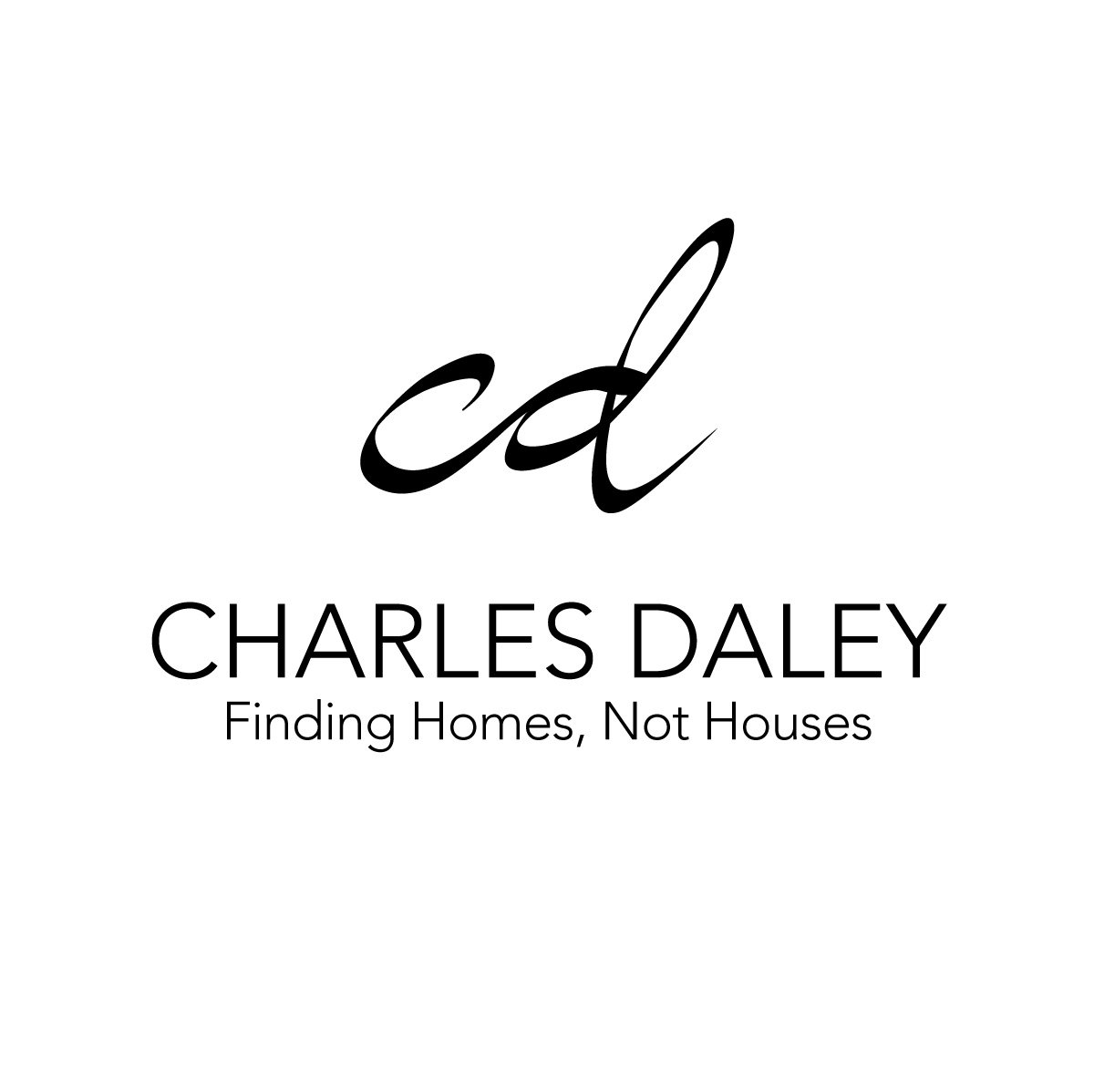 Charles Daley Logo White
