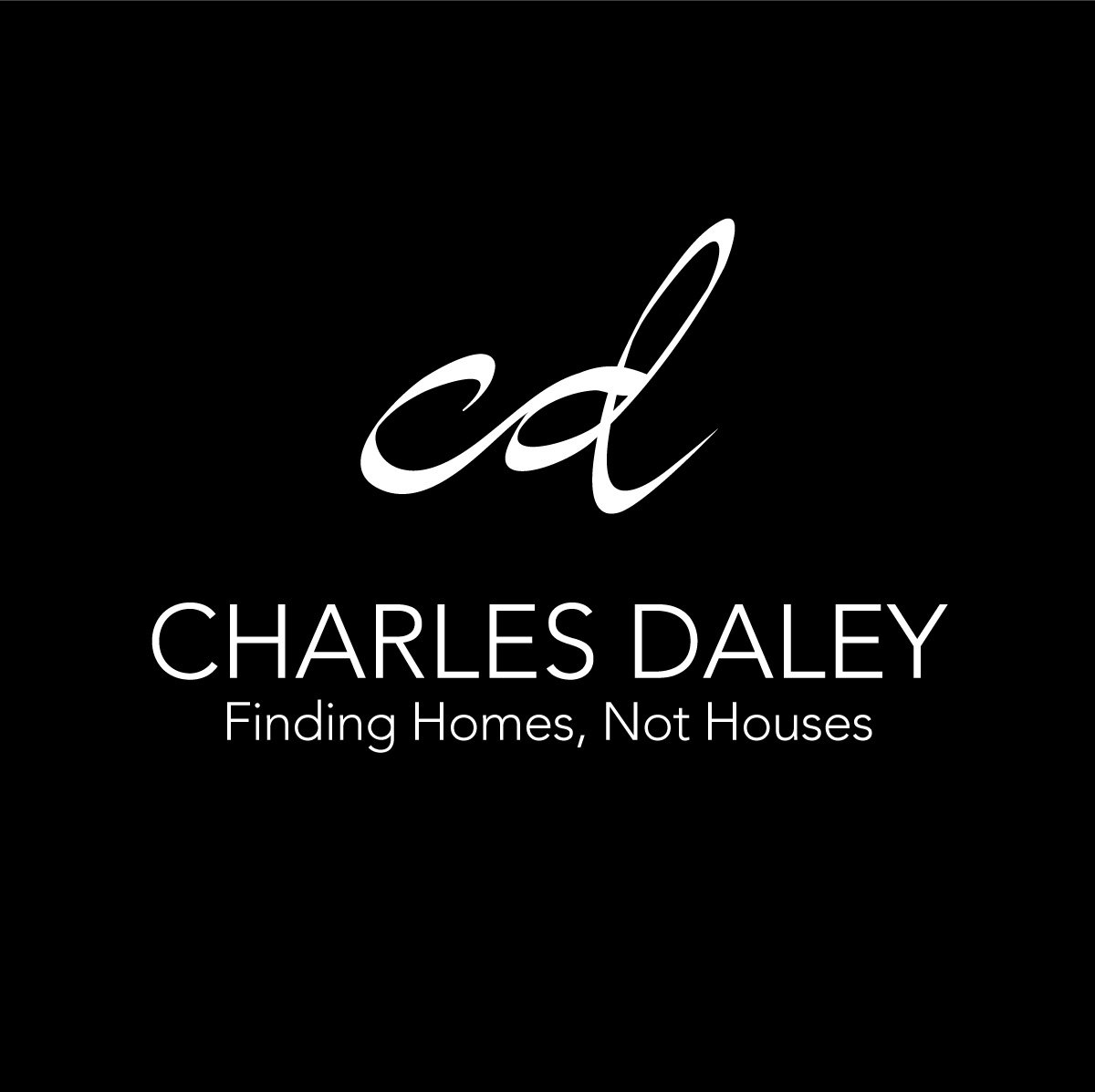 Charles Daley Logo Black