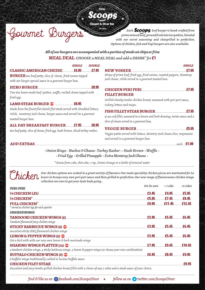 Menu Sample Page