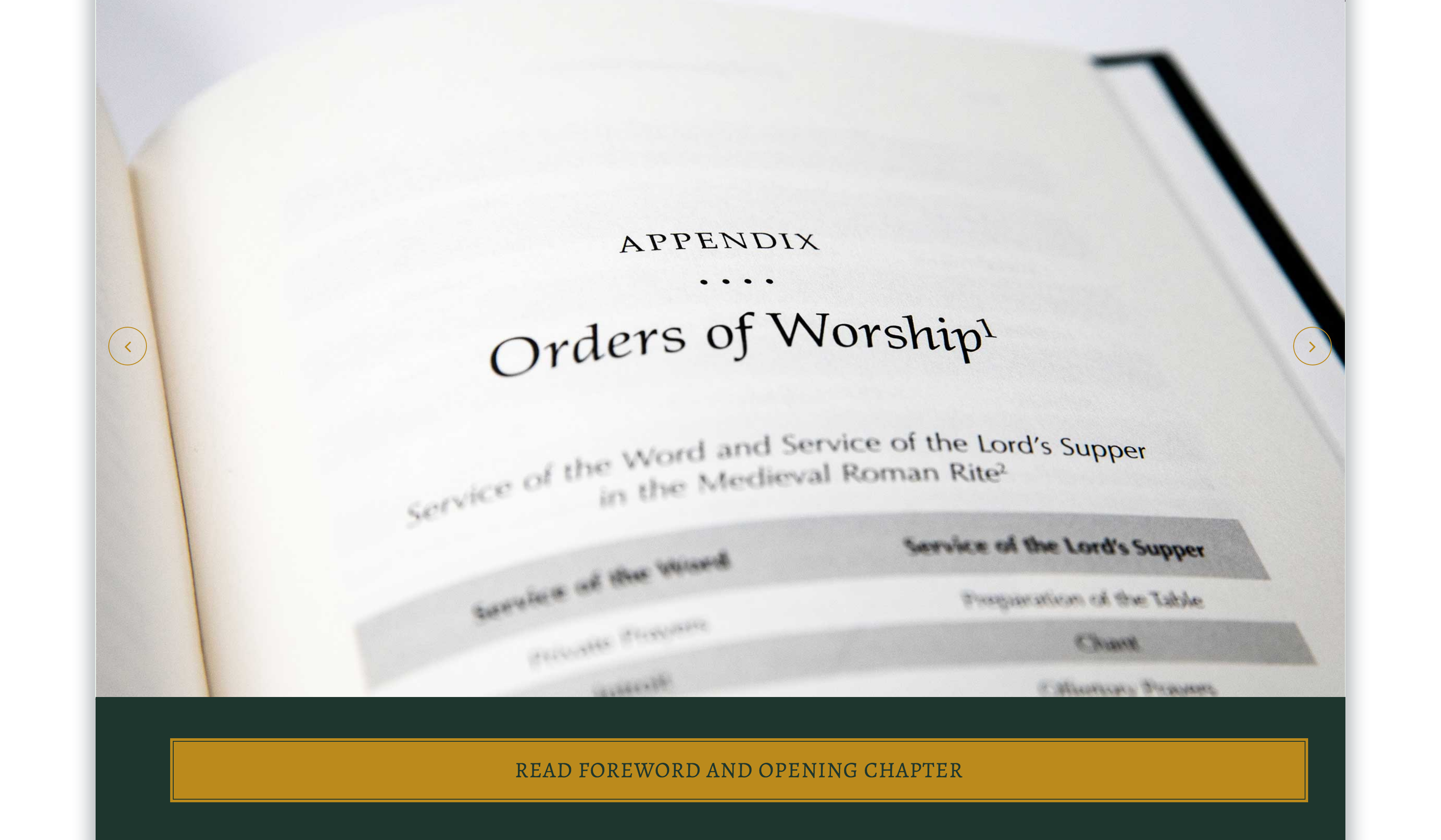 Reformation Worship Website Design