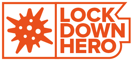 Lock Down Hero Logo