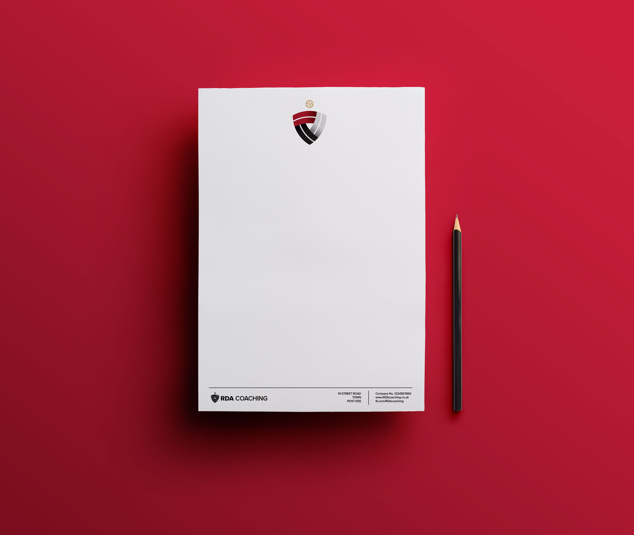 RDA Stationery Design