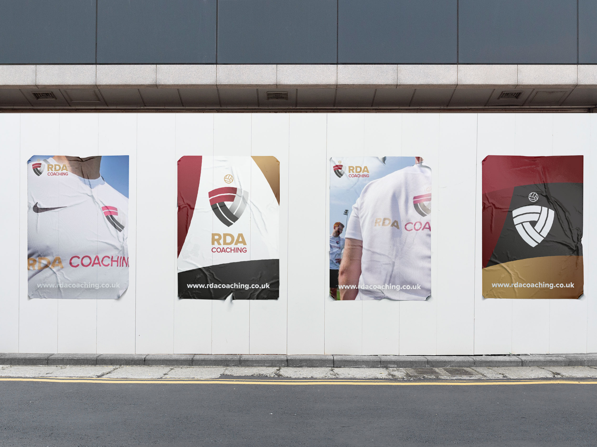 Promotional Materials for RDA on Wall