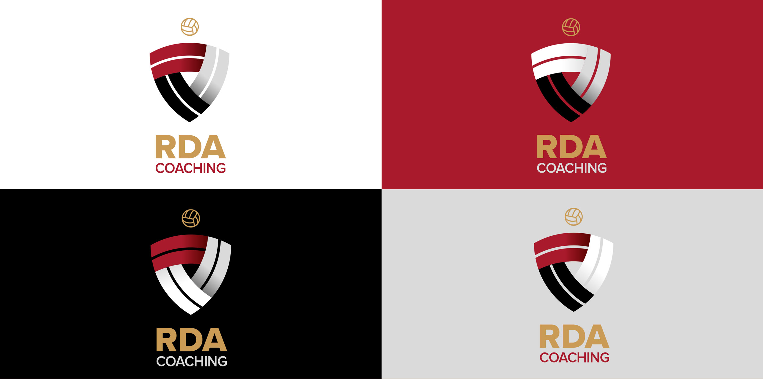 RDA Logos on Colour