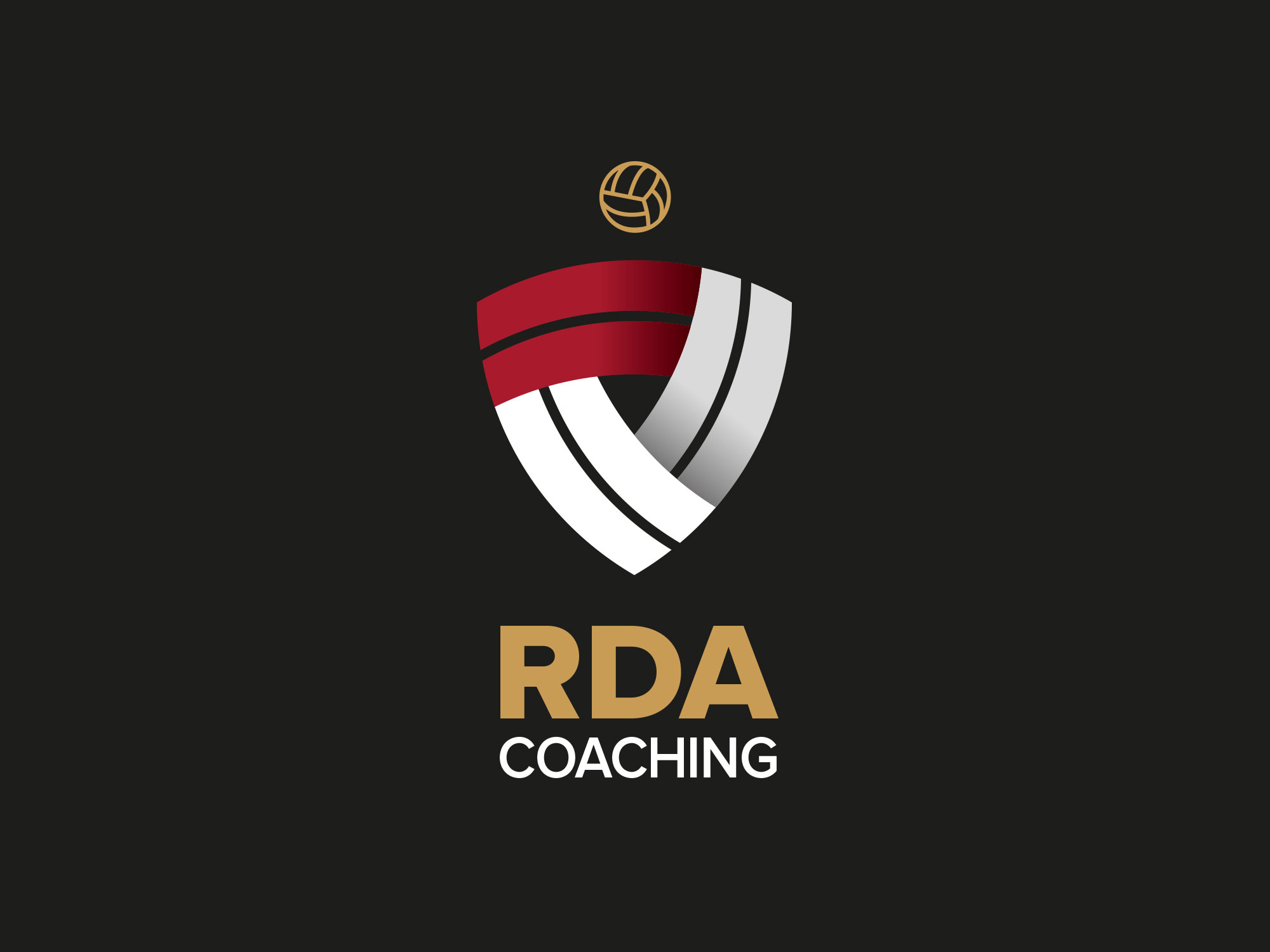 RDA Coaching Logo on Black