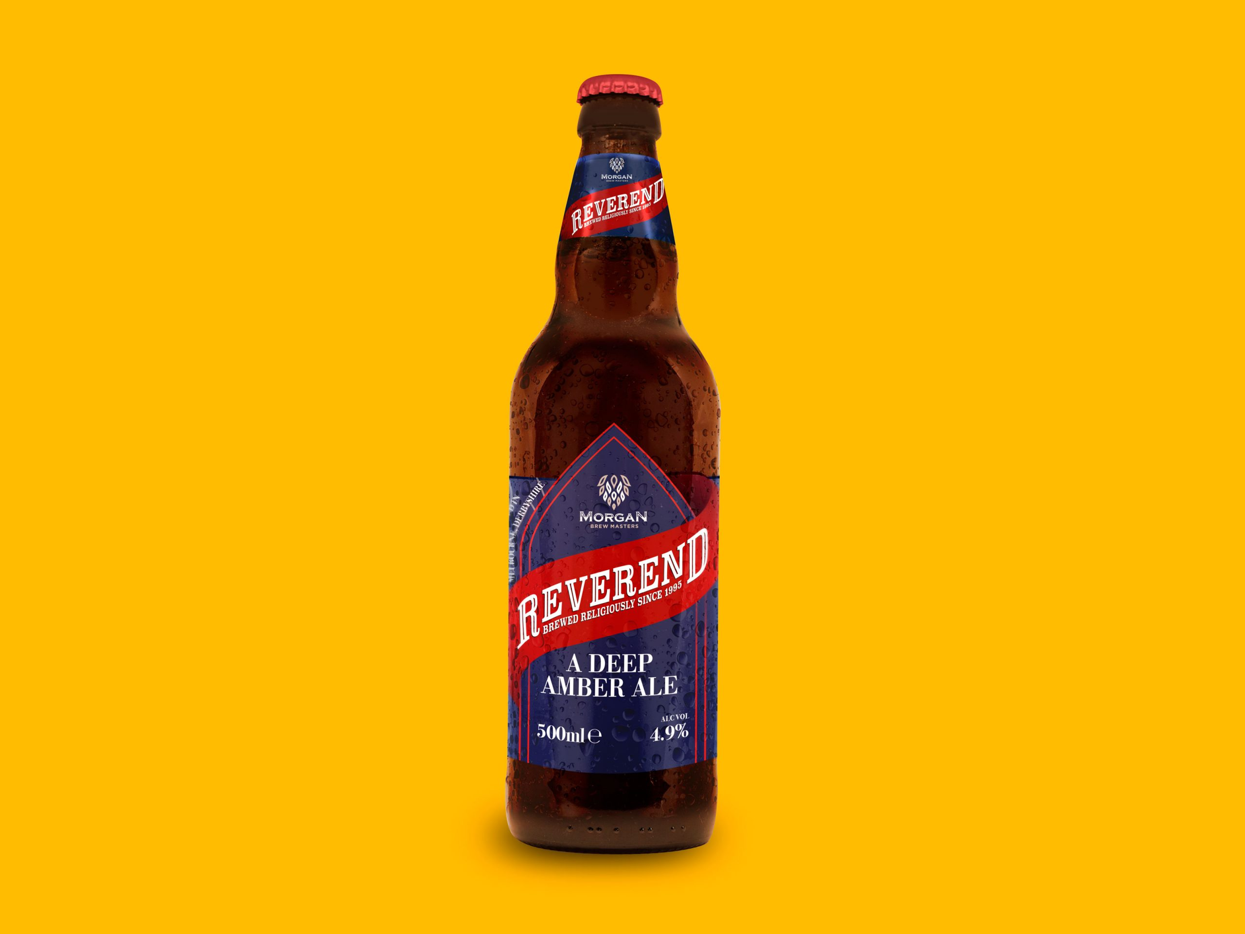 Reverend Beer Bottle