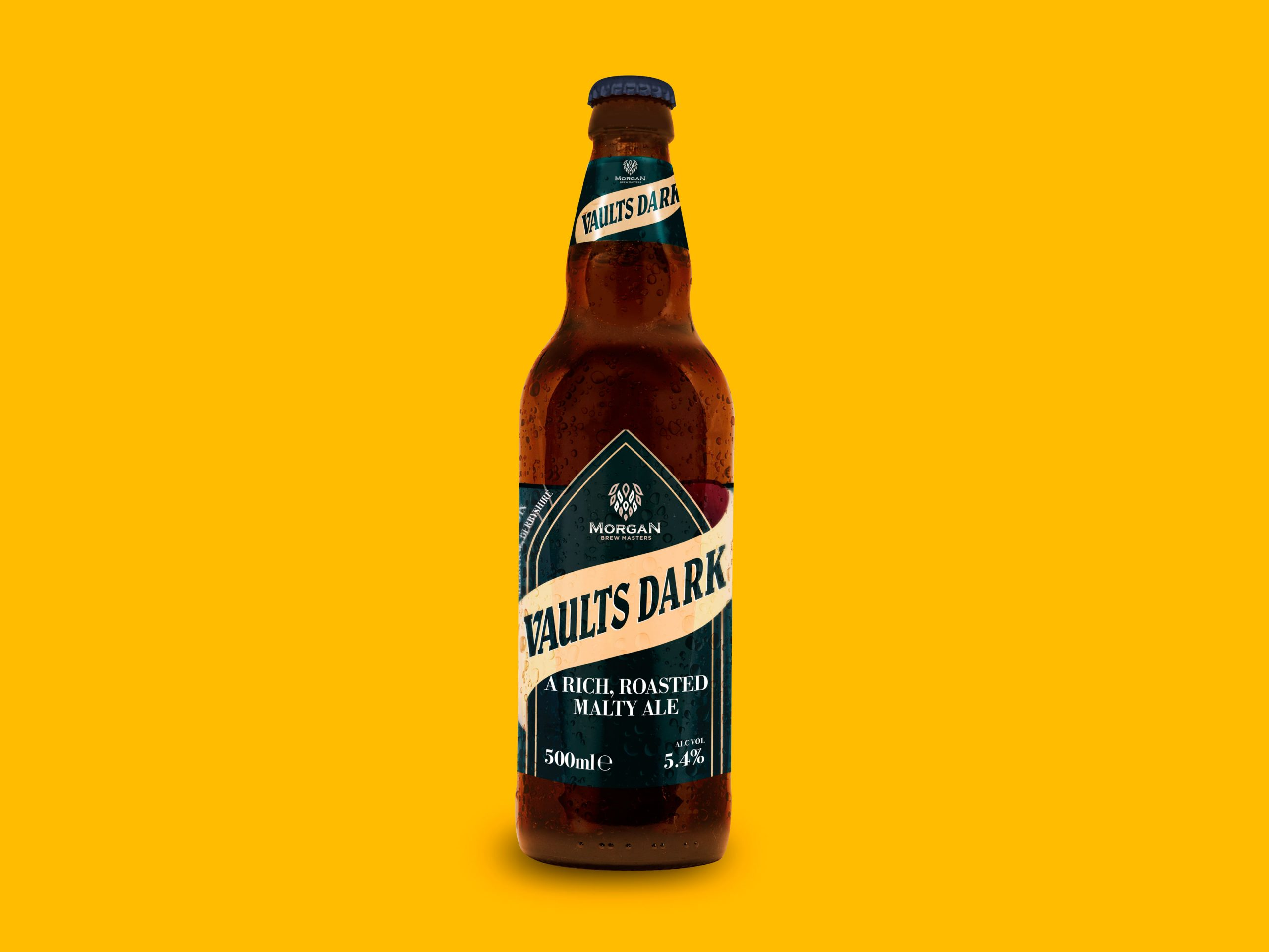 Vaults Dark Beer Bottle