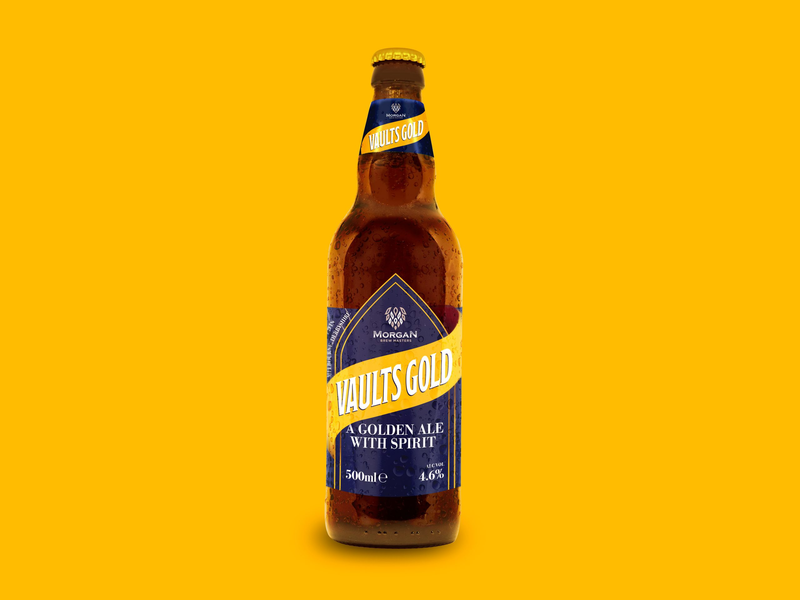 Vaults Gold Beer Bottle